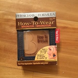 PHYSICIANS FORMULA How-to-wear bronzer 7866C new